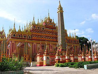 Monywa - Thanboddhay Pagoda