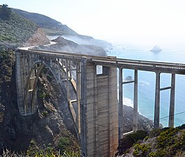 Morning Fog, Bixby Creek Bridge, CA (11781983615)