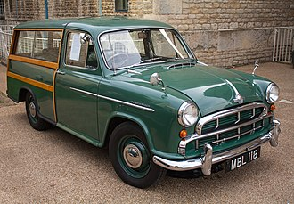 Morris Oxford Series II - Image: Morris Oxford Traveller 1955 7988405207
