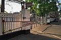 Moscow, Proezd Olminskogo, trolleybus depot gate (30531451063).jpg