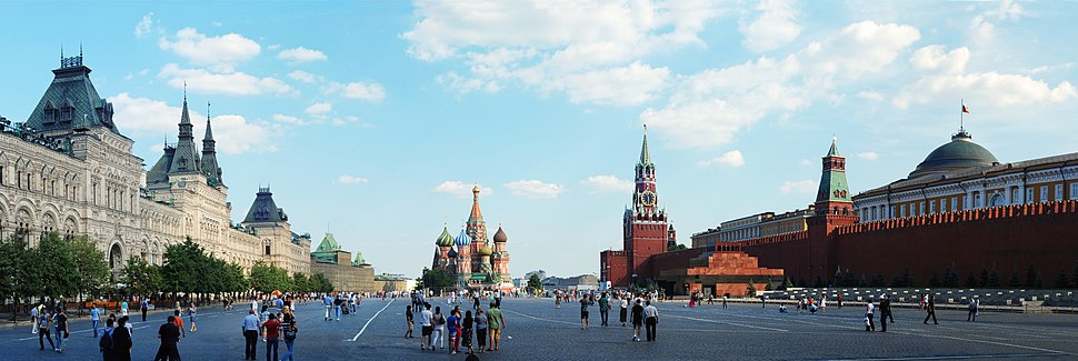 Red Square is a World Heritage Site