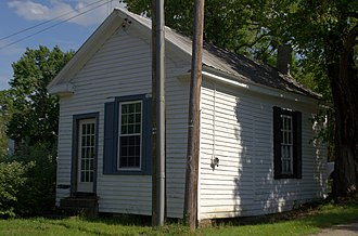 Moseley, Virginia - The 1891 Moseley Post Office on Moseley Road