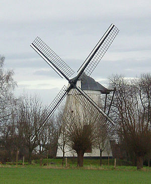 Nil-Saint-Vincent-Saint-Martin - Tiège windmill