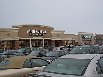 Mountain Farms Mall - View of one end of the mall in 2007.