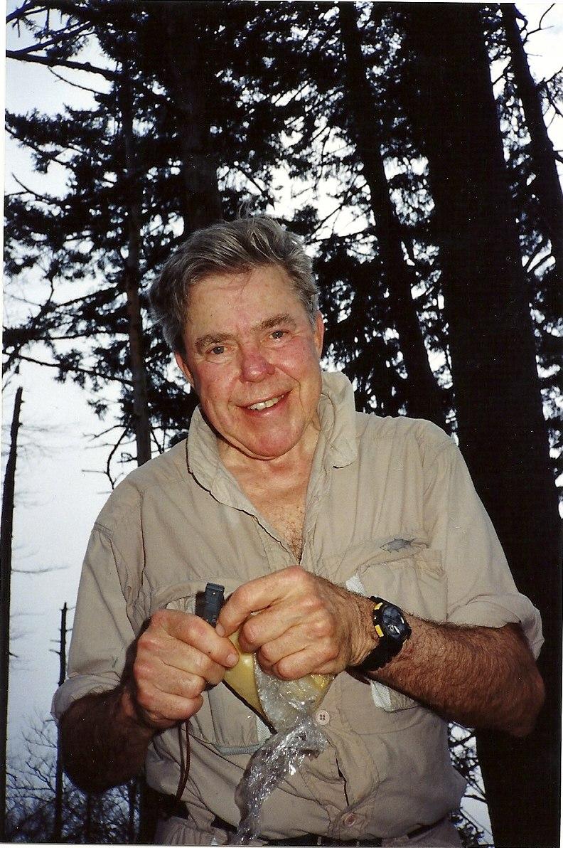 Mr. Hanes in Alaska 1992