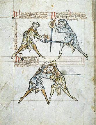 Historical European martial arts - Fol. 4v of the I.33