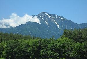 甲斐駒ヶ岳 - Wikipedia