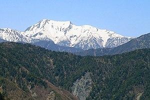 Mount Hijiri - Mount Hijiri from Mount Yanbushi