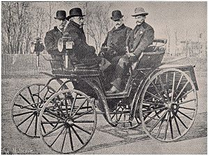 Chicago Times-Herald race - Mueller-Benz car – second place finisher