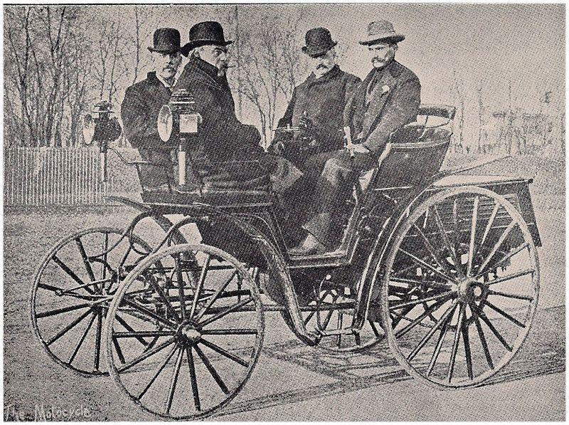 Mueller-Benz car 1895