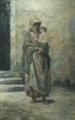 Mulher com Criança nos Braços (1885) - Carlos Reis (Paço Ducal de Vila Viçosa).png