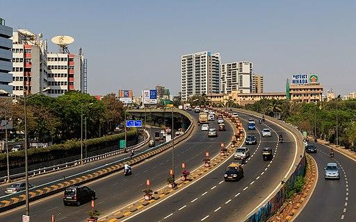 Mumbai 03-2016 109 Western Express Highway near Bandra