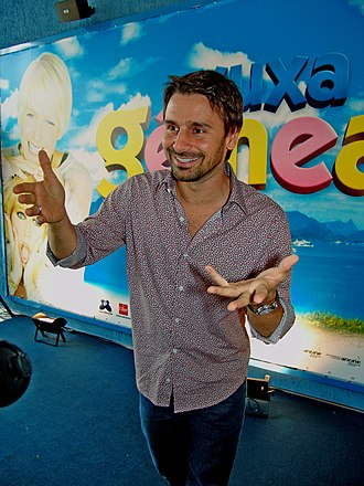 Murilo Rosa - Murilo at the premiere of the movie Xuxa Gêmeas.