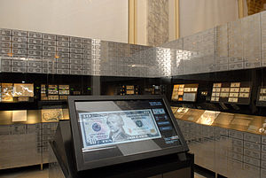 Museum of American Finance - Image: Museum of American Finance Money Gallery by Elsa Ruiz