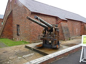Explosion! Museum of Naval Firepower - 18th-century gunpowder magazine within the museum