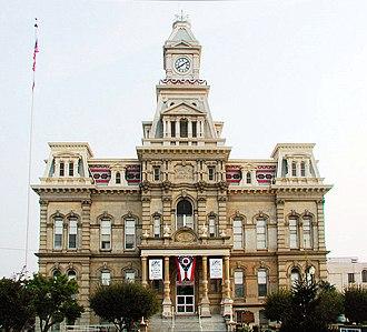 Zanesville, Ohio - Muskingum County Courthouse, Zanesville