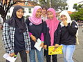 Muslim Girls - Outside Retribution Museum - Jakarta - Indonesia.jpg