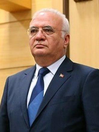 Third Davutoğlu Cabinet - Mustafa Elitaş