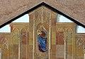 Muttergottes am Kirchturm Pfarrkirche Kastelruth.jpg
