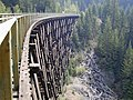 Myra Canyon Section of the Kettle Valley Railway August 2003.jpg