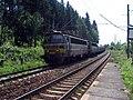 Nákladní vlak u zastávky Pohleď.jpg