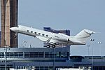 N18CJ 2008 Gulfstream Aerospace GIV-X (G450) C-N 4141 - McCarran International Airport, Las Vegas (11504889564).jpg