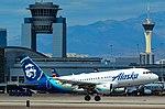 N529VA Alaska Airlines Airbus A319-112 s n 3684 (40608955193).jpg