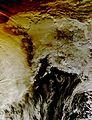 NASA's Aqua Satellite Sees Partial Solar Eclipse Effect in Alaska (14995382554).jpg