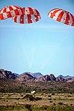 NASA Orion Capsule Parachute Assembly System test at U.S. Army Yuma Proving Ground.jpg