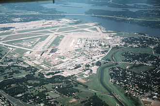 Naval Air Station Joint Reserve Base Fort Worth - Aerial view of Naval Air Station Fort Worth  Joint Reserve Base