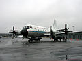 NOAA WP-3D Orion aircraft at Washington National Airport.jpg