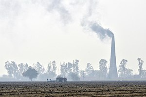 Environment of India - Air pollution in India is a major environmental issue.