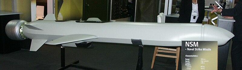 الصواريخ المضادة للسفن ..Anti-ship missiles 800px-NSM_PICT0001