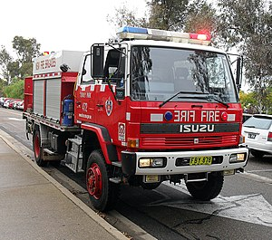 Fire and Rescue NSW - Isuzu FTR700 Class 1 Pumper