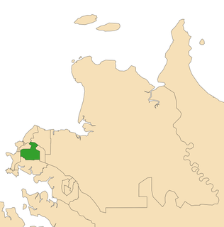 Electoral division of Sanderson electoral division of the Northern Territory, Australia