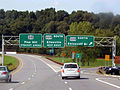 NY 28 at US 209 interchange in Catskills.jpg