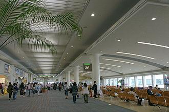 Naha Airport - Departure lobby