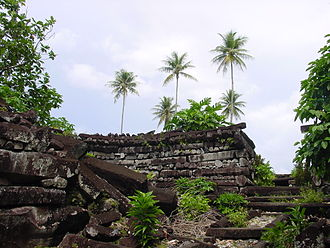 History of Oceania - Nan Madol, capital of the Saudeleur Dynasty