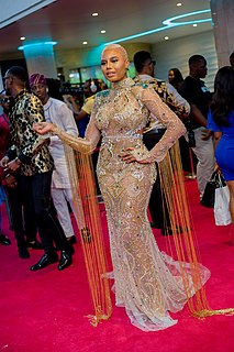 Nancy Isime Nigerian actress, model and presenter