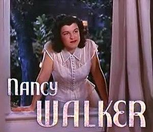 Nancy Walker - from the trailer for  Best Foot Forward (1943)