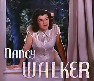 Nancy Walker American actress and musical comedy performer