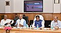 Narendra Singh Tomar addressing at the inauguration of the National Generic Document Registration System (NGDRS) for Andaman Nicobar through video conferencing, in New Delhi.JPG