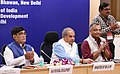 Narendra Singh Tomar launching the DISHA e-book, at the celebration of the two years of District Development Coordination & Monitoring Committee (DISHA) initiative with StatesUTs, in New Delhi.JPG