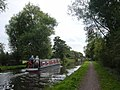 Narrow Boat on Trent-Mersey canal - geograph.org.uk - 64201.jpg