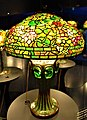 Nasturtium Shade with Mosaic Turtleback Tile Base - Tiffany Lamp - www.joyofmuseums.com - New-York Historical Society.jpg
