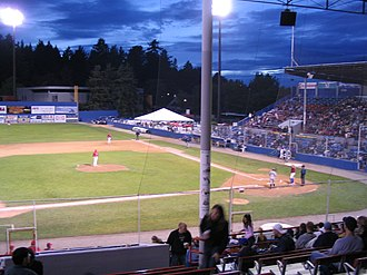 Vancouver Canadians - Scotiabank Field at Nat Bailey Stadium