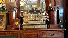 National Cash Register in the Irma Hotel, Cody, WY..jpg