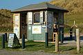 National Trust shed at Godrevy carpark - geograph.org.uk - 1545230.jpg