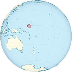 Nauru on the globe (Polynesia centered).svg