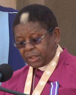 Njongonkulu Ndungane Archbishop of Cape Town